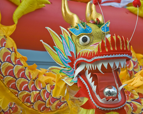 Chinese New Year decorations in Dublin, Ireland. Photo: William Murphy (Flickr/Creative Commons)